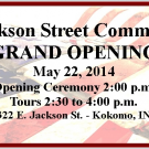 Grand Opening for Jackson Street Commons Set for May 22